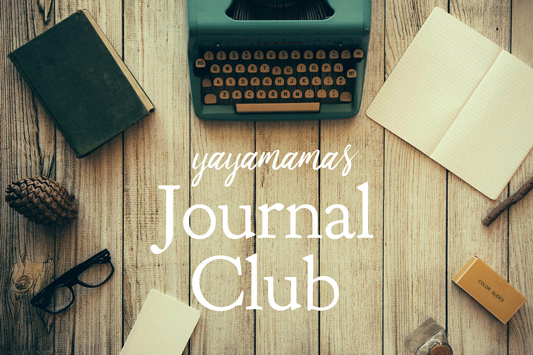 yayamamas Journal Club